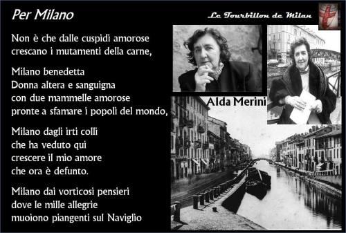 Alda Merini - Per Milano