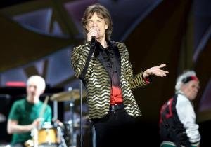 The Rolling Stones in concert in Rome