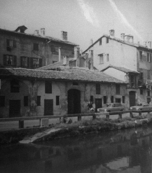 Milano - Naviglio Grande 1970