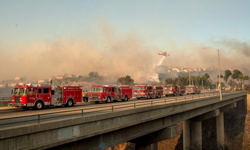 California, allerta per gliincendi: