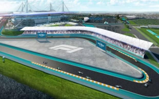 La F.1 sbarca a Miami: nel 2021 un GP all'Hard RockStadium