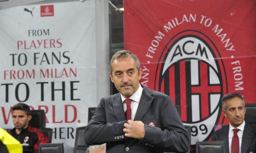 Panchina Milan, Giampaolo via dopo unavittoria?