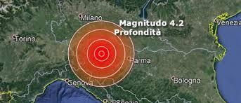 Terremoto a Piacenza, sentito anche a Milano eGenova