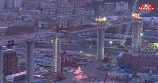 Ponte Genova, posizionato l'ultimo impalcato: il timelapse delleoperazioni