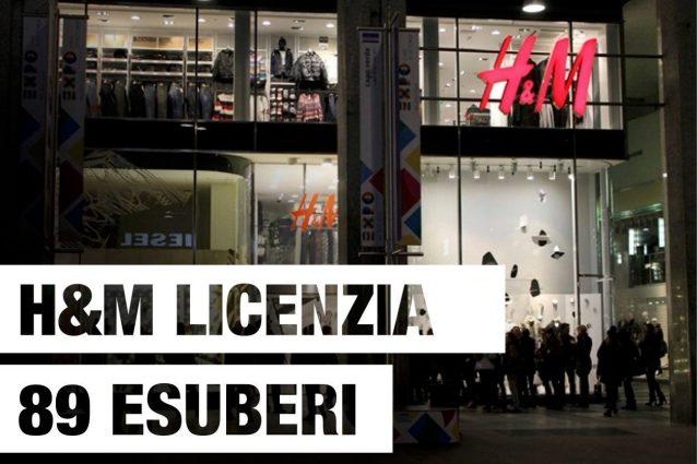 H&M chiude otto negozi inItalia.
