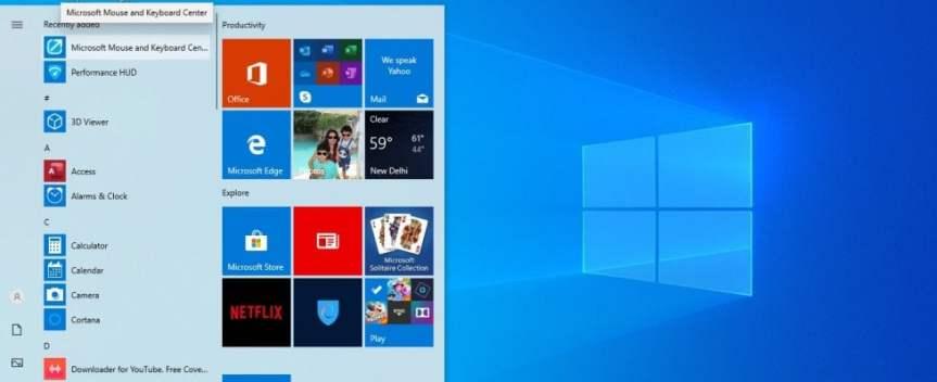 """Windows 10, arriva l'aggiornamento: tutte le novità di """"2004"""""""