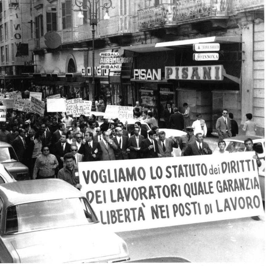 20 maggio 1970 – 50 anni fa viene approvato lo statuto deilavoratori