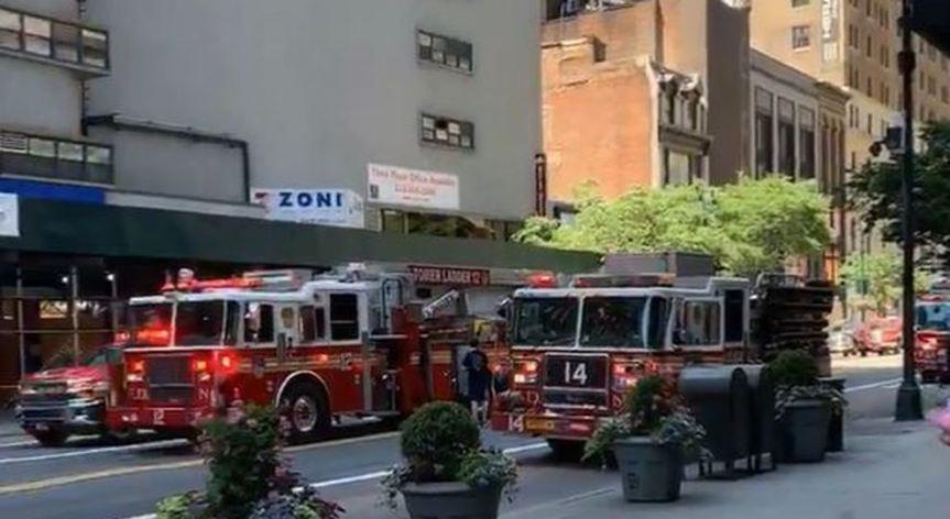 New York, finita l'emergenza incendio all'Empire StateBuilding