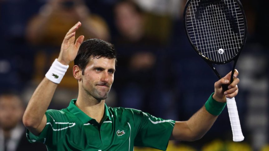 Tennis, anche Novak Djokovic positivo alcoronavirus