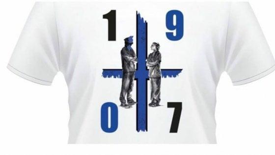 Coronavirus, in una maglietta il tributo dei tifosi atalantini….