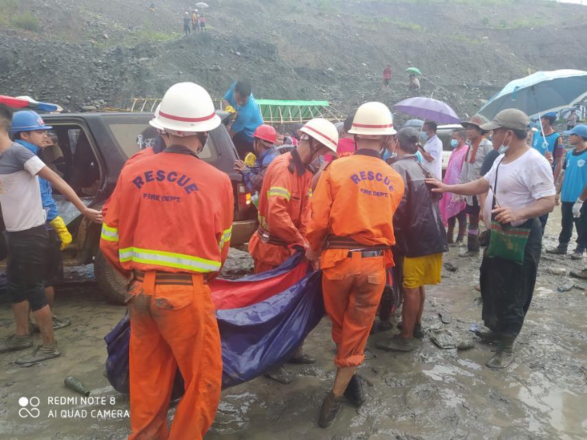 Myanmar, frana in una miniera di giada: almeno 113morti