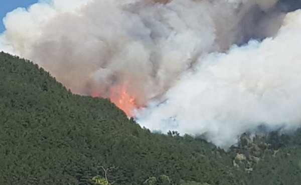 Incendi: bruciano i boschi intorno a L'Aquila, aria irrespirabile incittà