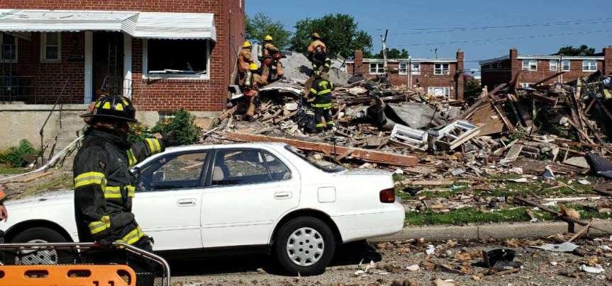 Usa, esplodono diverse case a Baltimora: unmorto