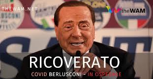 Silvio Berlusconi ricoverato al San Raffaele aMilano