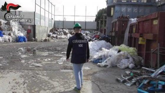 Tonnellate di rifiuti speciali illegali, sequestrata un'azienda inBrianza