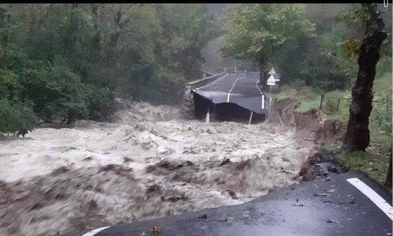 Incubo alluvione nel Cuneese, al confine con laFrancia: