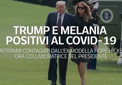 Donald e Melania Trump positivi alCoronavirus