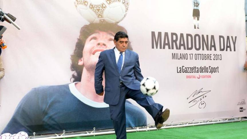 È morto Maradona: il calcio piange il più grande ditutti