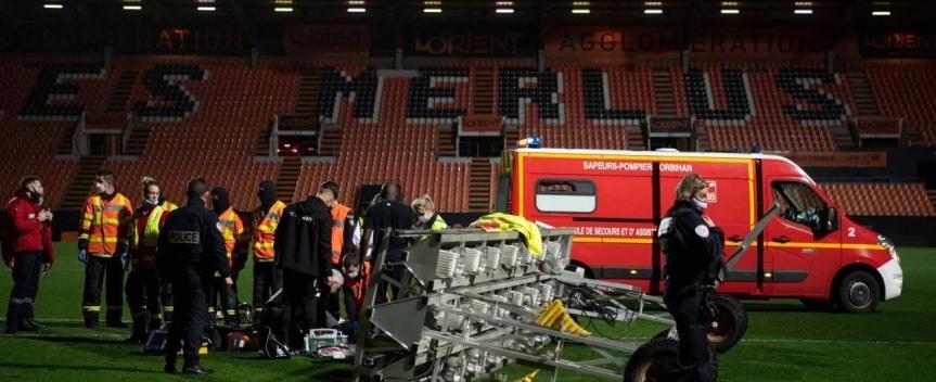 Francia, tragedia allo stadio di Lorient: macchinario cade su un giardiniere e louccide
