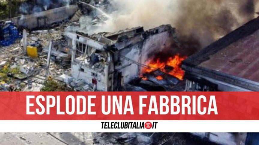 Chieti, tre morti nell'esplosione in una fabbrica di recupero polvere dasparo