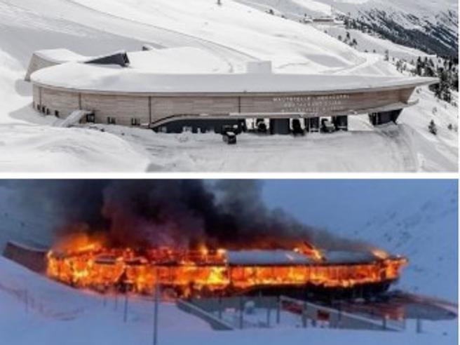 Incendio al Top Mountain Crosspoint, distrutte 230 moto e 100 auto d'epoca: danni permilioni