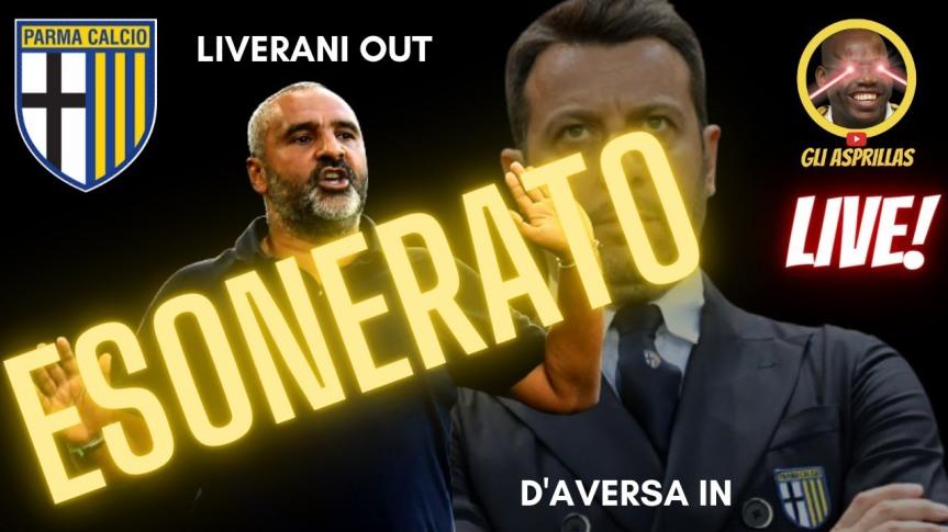 Parma, esonerato Liverani: al suo posto tornaD'Aversa