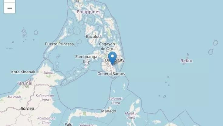 Filippine, scossa di terremoto di magnitudo 6 sull'isola diMindanao
