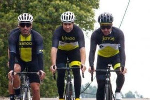 """Alonso, che paura: investito in bici: """"È in buone condizioni"""""""