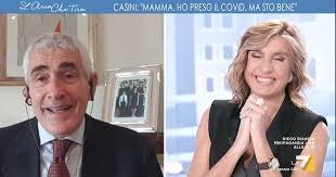 Covid, l'annuncio in diretta di Casini: «Ho il Covid, ma sto bene; tosse fastidiosa ma la mente èlucida»
