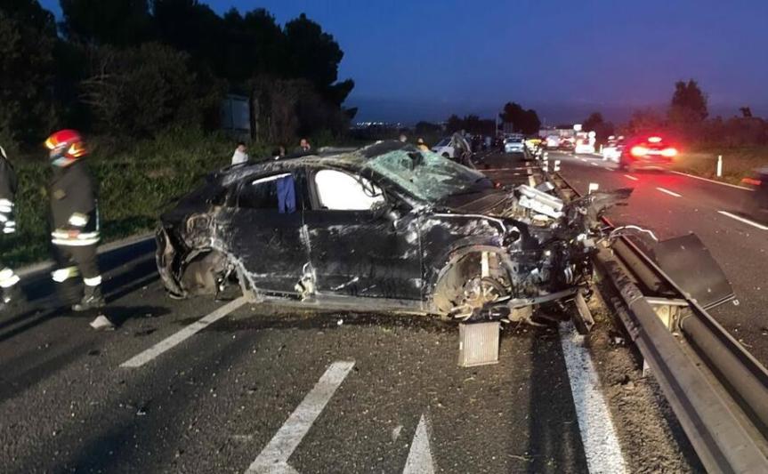 Terribile incidente sulla Strada 554: Andrea Cossu in gravicondizioni