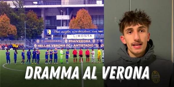 Verona, gravissimo giocatore della primavera: folgorato dai fili deltreno