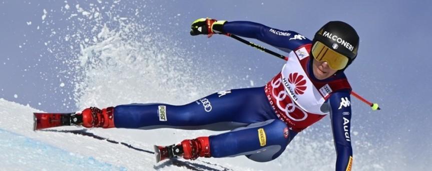 Sci, Sofia Goggia salta i Mondiali: frattura al ginocchiodestro