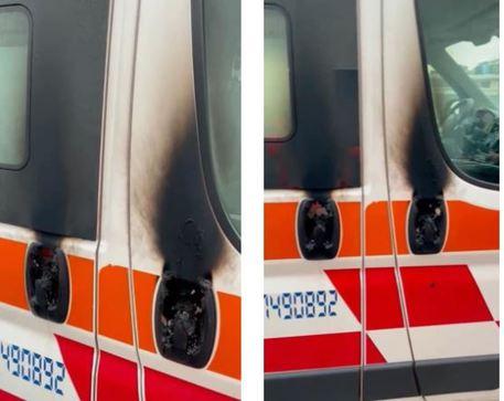 Vandalismo: incendiata ambulanza aMilano