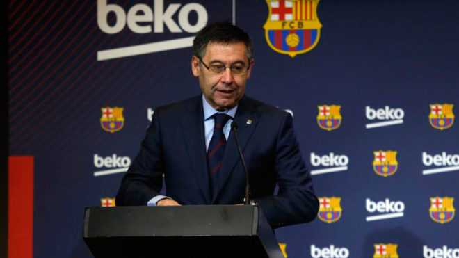 Barcellona, arrestato l'ex presidenteBartomeu