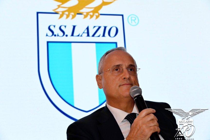 Lazio, caso tamponi: 150 mila euro di multa al club, 7 mesi di inibizione aLotito