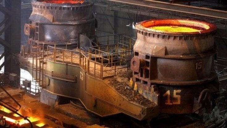 Arcelor Mittal, incendio nel siderurgico diTaranto