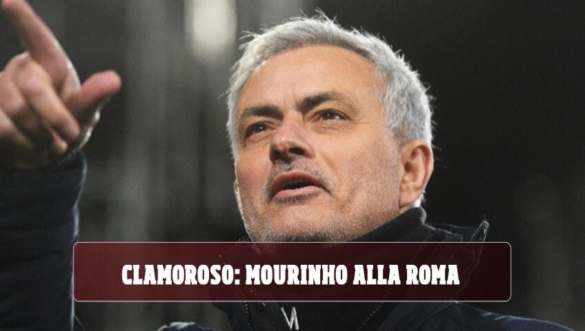 Roma, Josè Mourinho è il nuovoallenatore