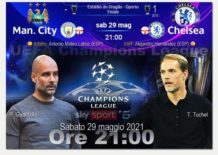 Il Chelsea è campione d'Europa Manchester City battuto1-0