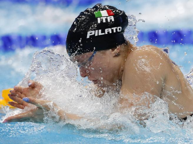 Benedetta Pilato fa il record del mondo nei 50 rana agli Europei dinuoto