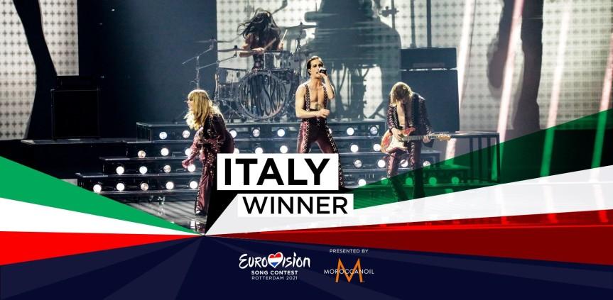 I Måneskin vincono Eurovision 2021 con «Zitti ebuoni»
