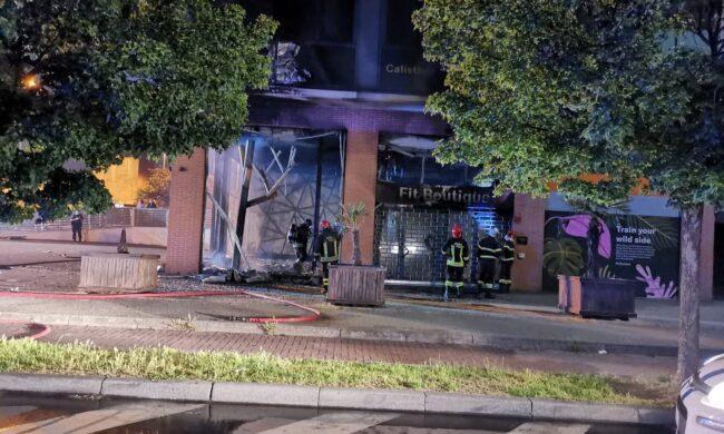 Devastante incendio distrugge la palestra Fit Boutique, ancora non si esclude matricedolosa