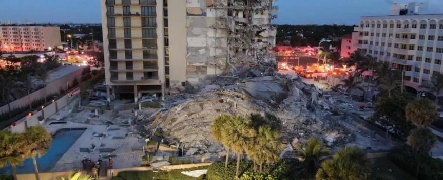 """Miami, crolla un palazzo: """"Ci potrebbero essere moltevittime"""""""