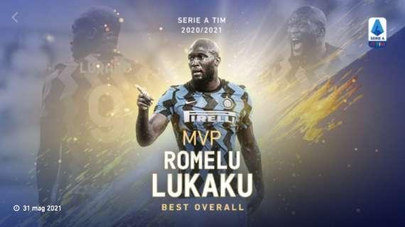 La Lega incorona Lukaku: il miglior giocatore dellastagione.