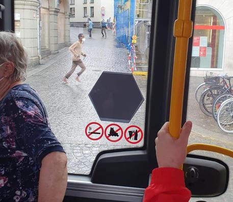 Germania: sui social prime immagini dell'attacco a Wurzburg