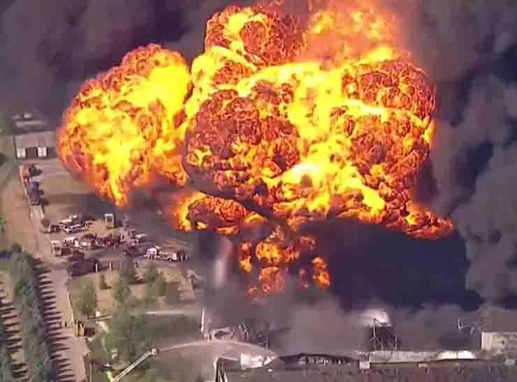 Usa, espolosione in uno stabilimento chimico dell'Illinois: evacuata cittadina diRockton