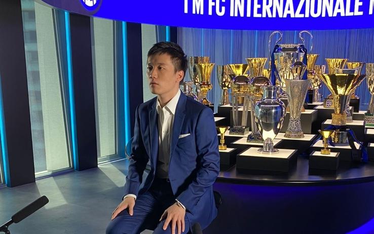 """Inter, Zhang: """"Inzaghi ha i requisiti giusti. Mercato? L'obiettivo è di ridurre icosti"""""""