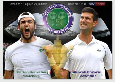 Berrettini cede in quattro set Wimbledon è diDjokovic